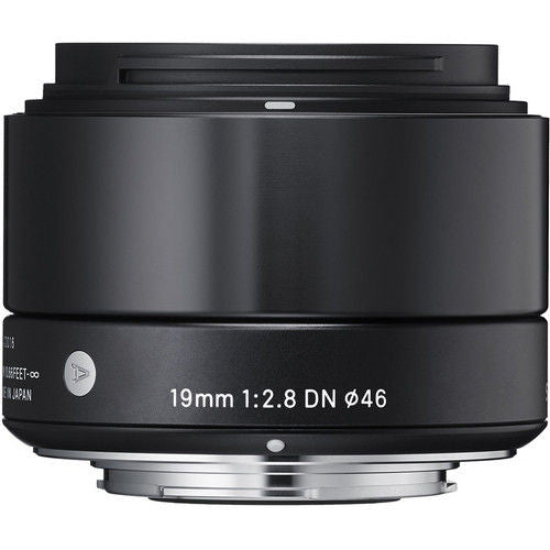 Sigma 19mm f/2.8 DN (M3/4-mount) Black Lens