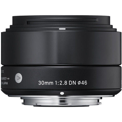 Sigma 30mm f/2.8 DN (M3/4-mount) Black Lens