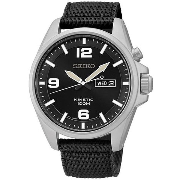 Seiko Premier Kinetic SMY143 Watch (New with Tags)