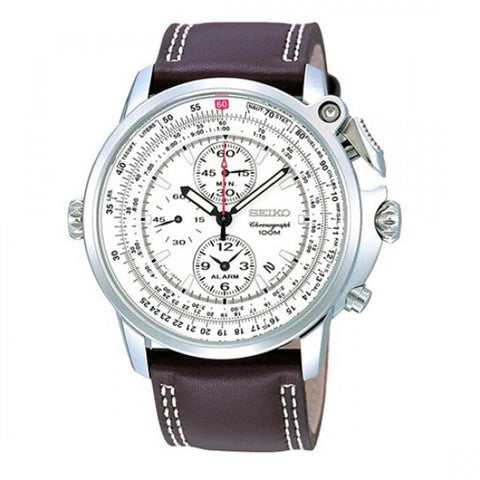 Seiko Chronograph Pilot SNAB71 Watch (New with Tags)