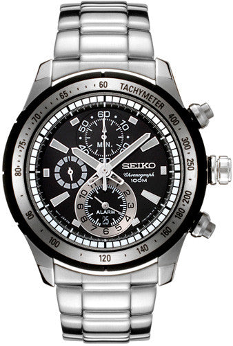 Seiko Chronograph Quartz SNAC87 Watch (New with Tags)