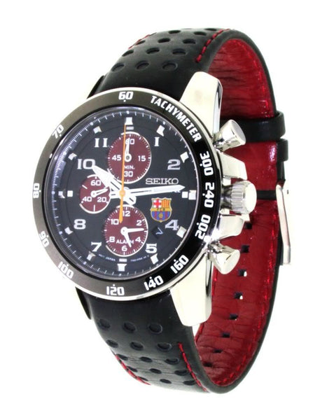 Seiko FC Barcelona Limited Edition Sportura SNAE75 Watch (New with Tags)