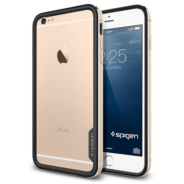 Spigen Neo Hybrid EX Metal Series Case for IPhone 6 Plus Champagne Gold