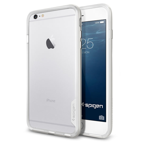 Spigen Neo Hybrid EX Series Case for IPhone 6 Plus Satin Silver