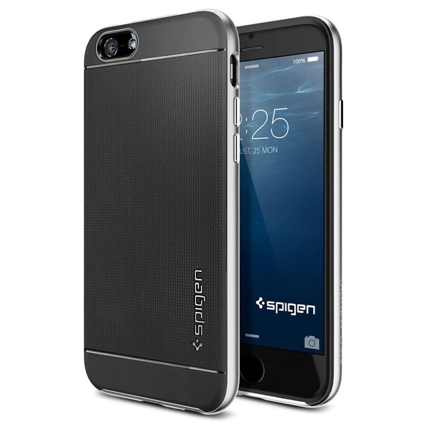 Spigen Neo Hybrid Series Case for IPhone 6 (4.7 inches) Satin Silver