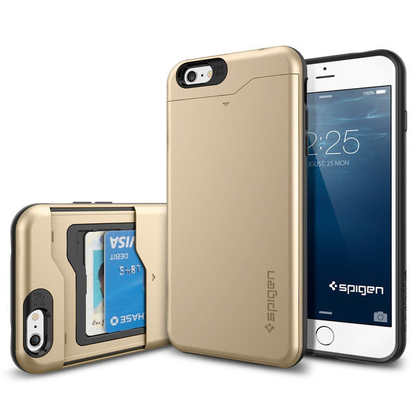 Spigen Slim Armor CS Series Case for iPhone 6 Plus Champagne Gold