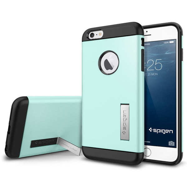 Spigen Slim Armor Series Case for IPhone 6 Plus (5.5 inches) Mint