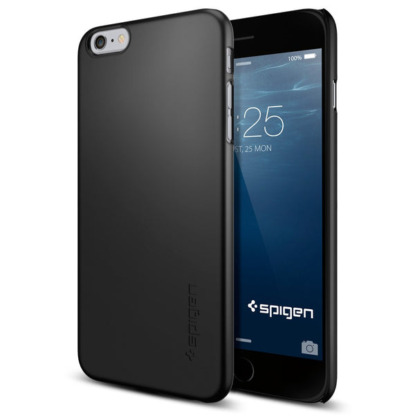 Spigen Thin Fit Series Case for IPhone 6 Plus Smooth Black
