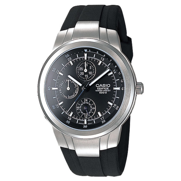 Casio Edifice Multi-Hand EF-305-1A Watch (New With Tags)