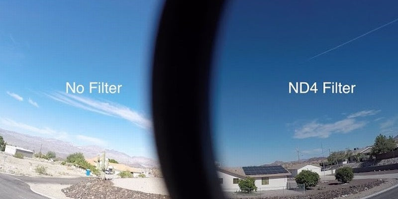drone photography ND ND4 neutral density filter
