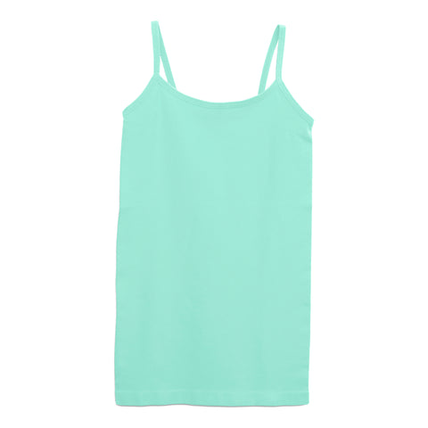 #1 Seamless Tank Top - Aqua Splash