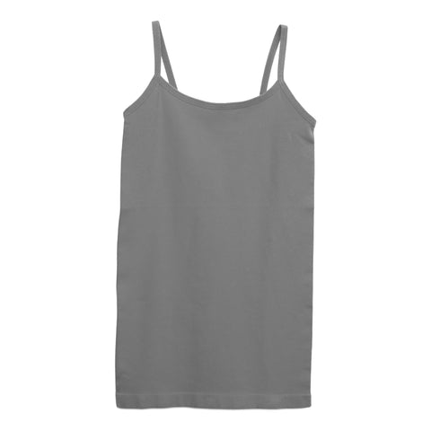 #1 Seamless Tank Top - Granite Gray
