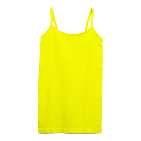 #1 Seamless Tank Top - Lemon Tonic