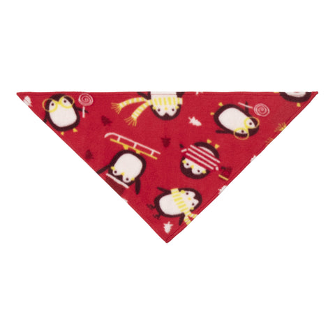 Pet Penguin Bandana - True Red
