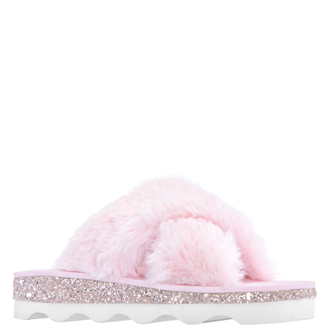 Fur Slide - Ballerina