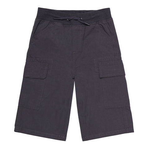 Pull On Cargo Short - Blackened Pearl