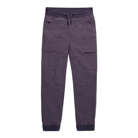 Pull On Cargo Pant - Blackened Pearl