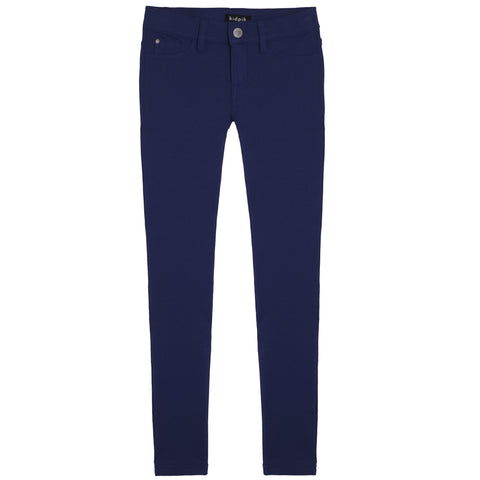5 Pocket Knit Pant - Kidpik Navy