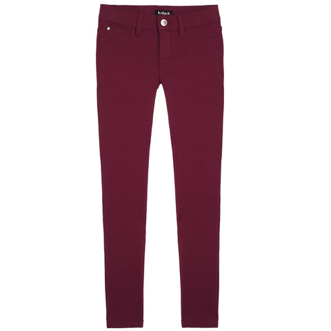 5 Pocket Knit Pant - Purple Potion