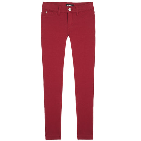 5 Pocket Knit Pant - Rio Red
