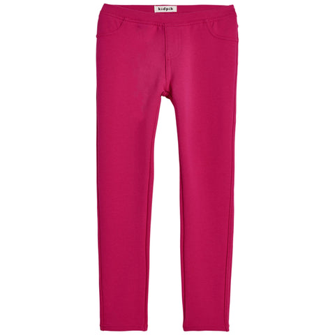 Cozy Knit Jegging - Beetroot Purple