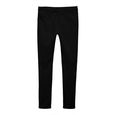 5 Pocket Knit Jegging - Black