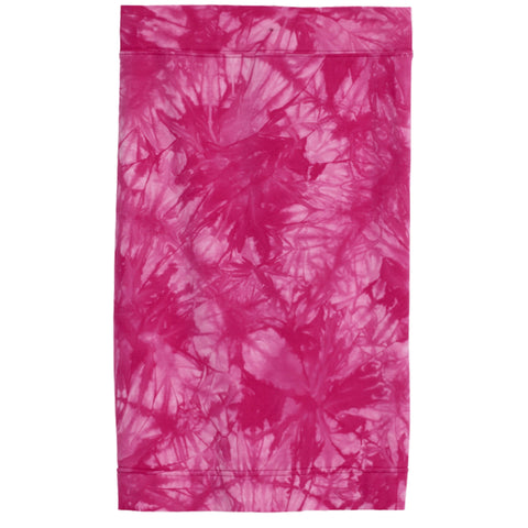 Tie Dye Pencil Skirt - Beetroot Purple