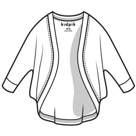 Cocoon Cardigan - White