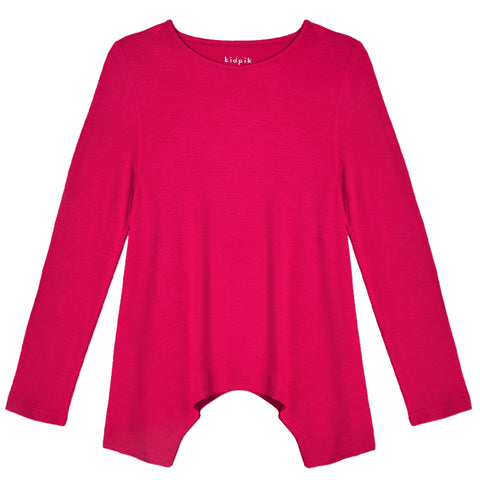 Silky Soft Swing Top - Beetroot Purple