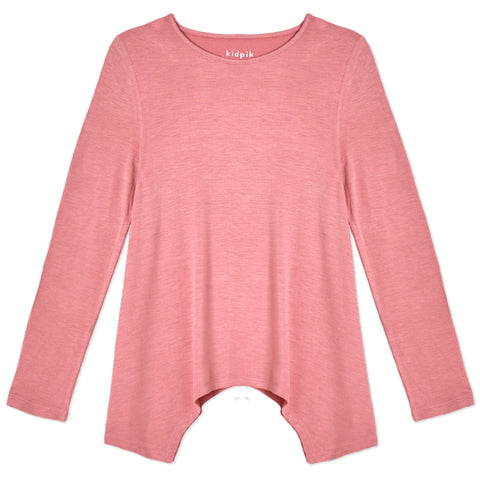 Silky Soft Swing Top - Blush