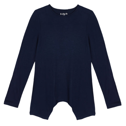Silky Soft Swing Top - Kidpik Navy