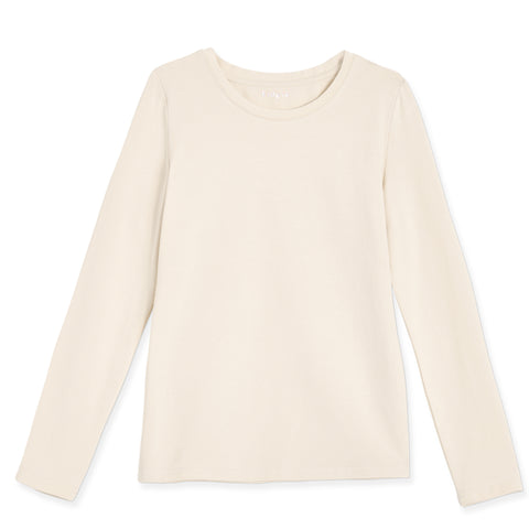 Essential Layer Tee - Kidpik Cream