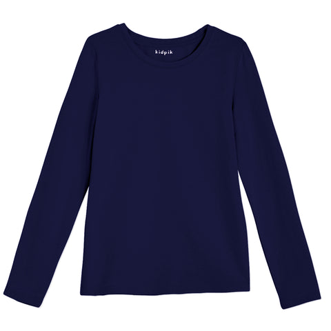 Essential Layer Tee - Kidpik Navy