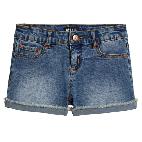Cuffed 5 Pocket Denim Short