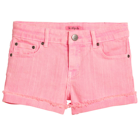 Cuffed 5 Pocket Short - Cotton Candy