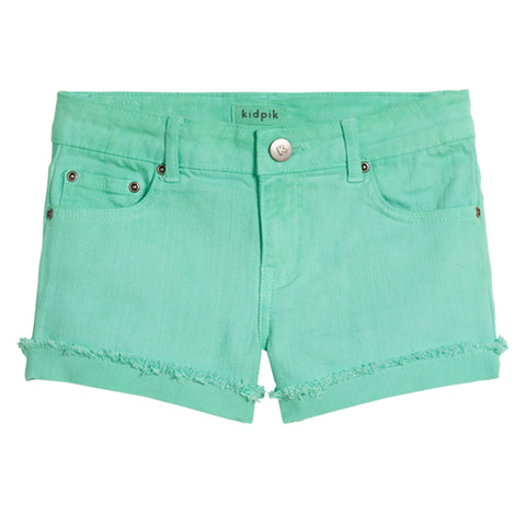 Cuffed 5 Pocket Short - Lucite Green