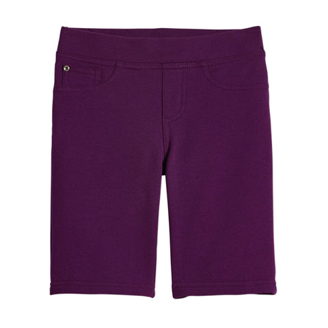 French Terry Bermuda - Plum Purple