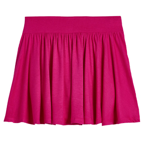 Knit Skort - Fuchsia Purple