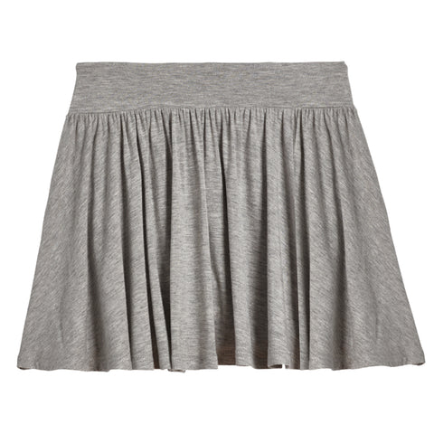 Knit Skort - Medium Heather Grey
