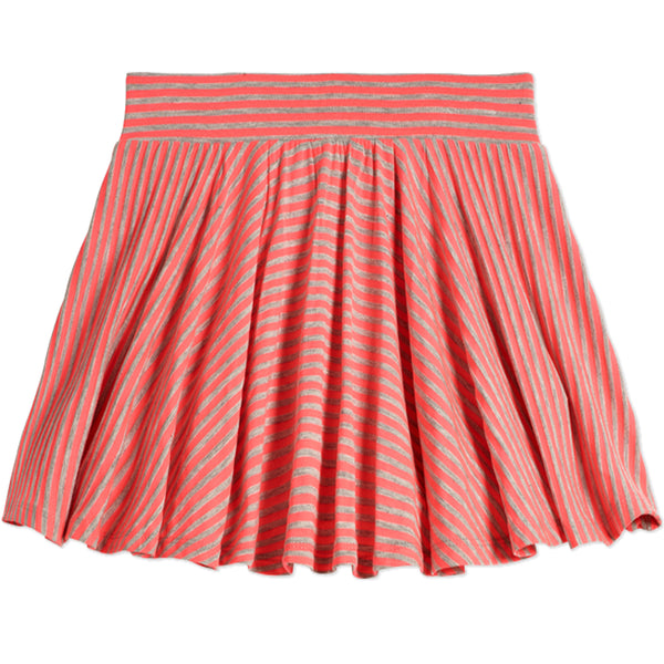 Stripe Knit Skort