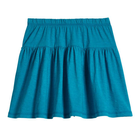 Drop Yoke Skirt - Capri Breeze