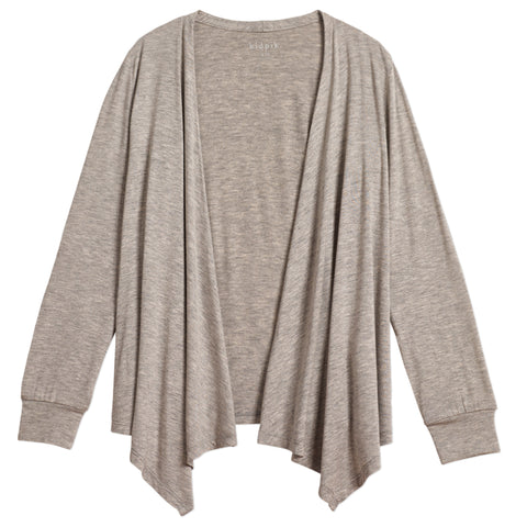 Flyaway Cardigan - Medium Heather Grey