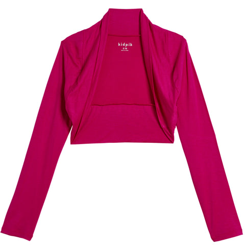 Versatile  Shrug - Fuchsia Purple