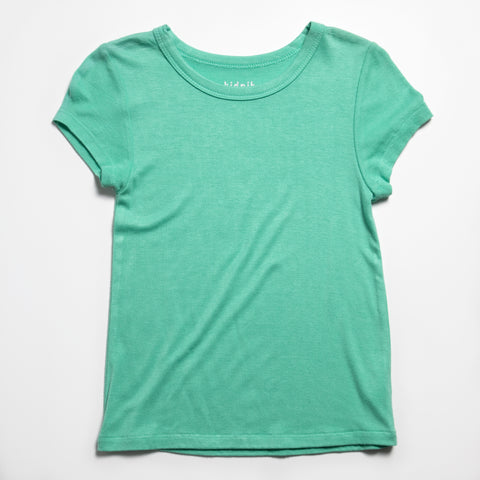 Ribbed Crew - Lucite Green