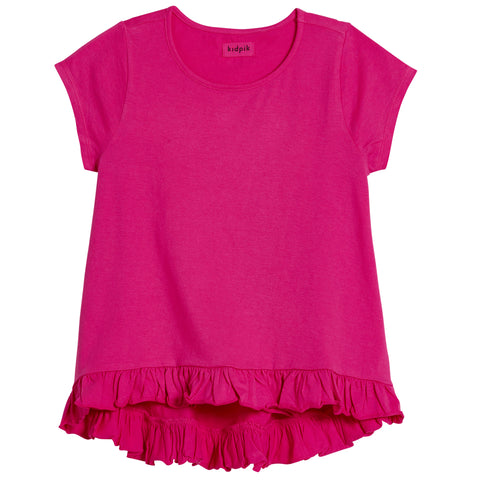 Coco Swing Top - Fuchsia Purple