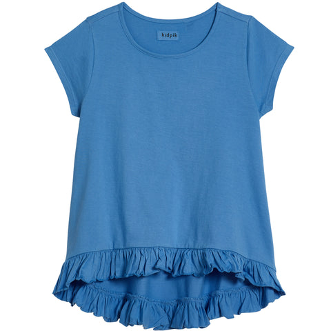 Coco Swing Top - Provence Blue
