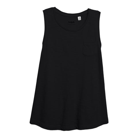 One Pocket Tank - Black
