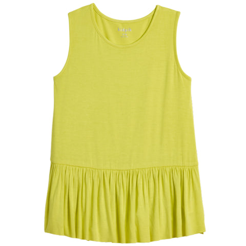 Ruffle Tank - Lemon Tonic