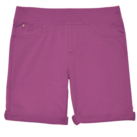 5pocket Knit Bermuda Short - Striking Purple