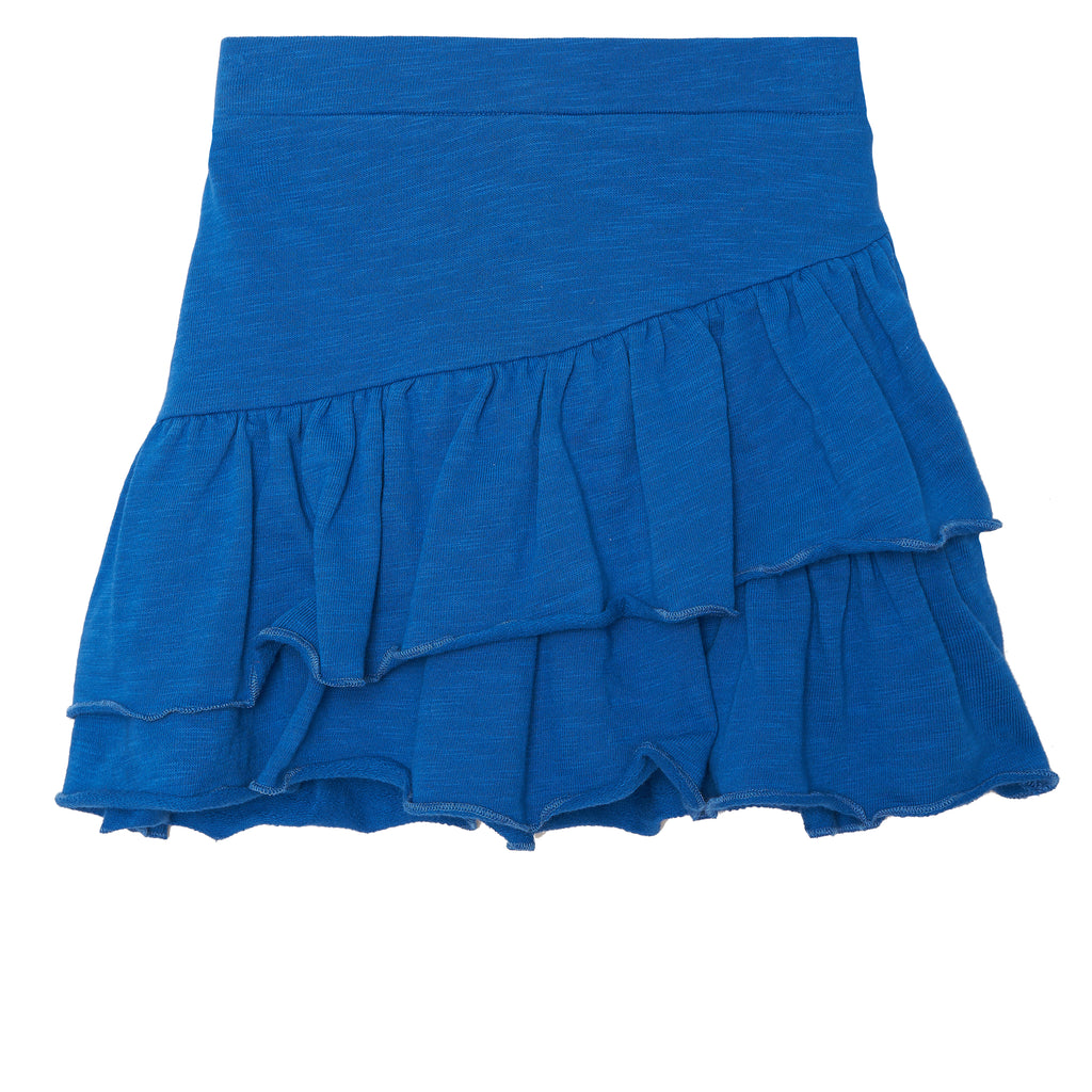 Ruffle French Terry Skirt